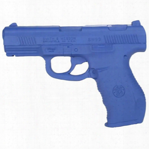 Rings Manufacturing Blue Gun, S&w Sw99 Training Weapon - Blue - Male - Included
