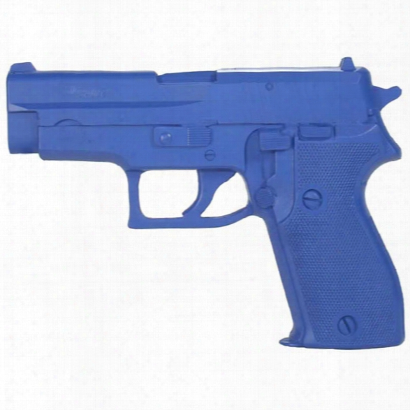 Rings Manufacturing Blue Gun, Sig P225 Training Weapon - Blue - Male - Included
