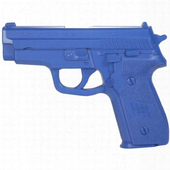 Rings Manufacturing Blue Gun, Sig P229 Training Weapon - Blue - Male - Included