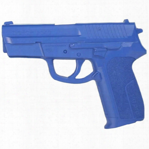 Rings Manufacturing Blue Gun, Sig Pro 2340 Training Weapon - Blue - Male - Included