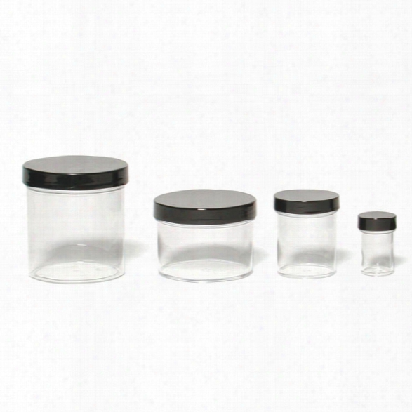 Sirchie Evidence Collection Jars, 1 Oz., 15 Per Pack - Clear - Unisex - Included