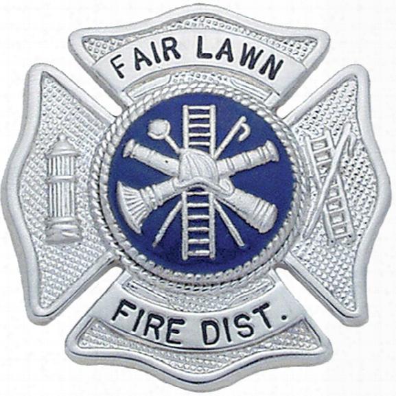 "Smith & Warrenn Custom Badge, 1-3/4"" X 1-3/4"", Gold - Gold - Male - Included"