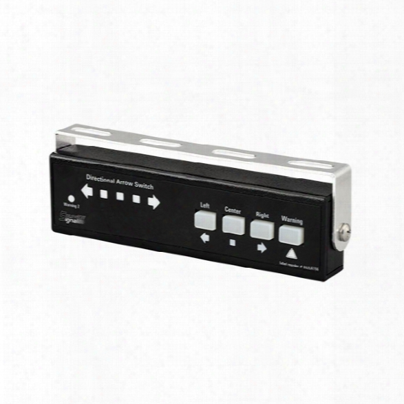 Soundoff Signal Directional Arrow Switch, For Apex, Pinnacle, Etl5000 Lightbars & Ultralite - Black - Unisex - Included