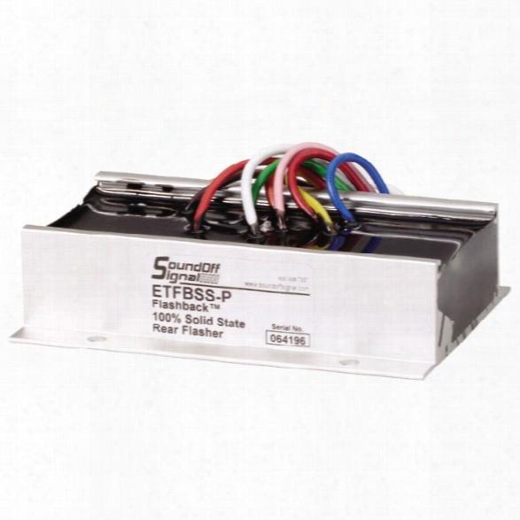 Soundoff Signal Flashback Brake Light/reverse Light Flasher - Unisex - Included