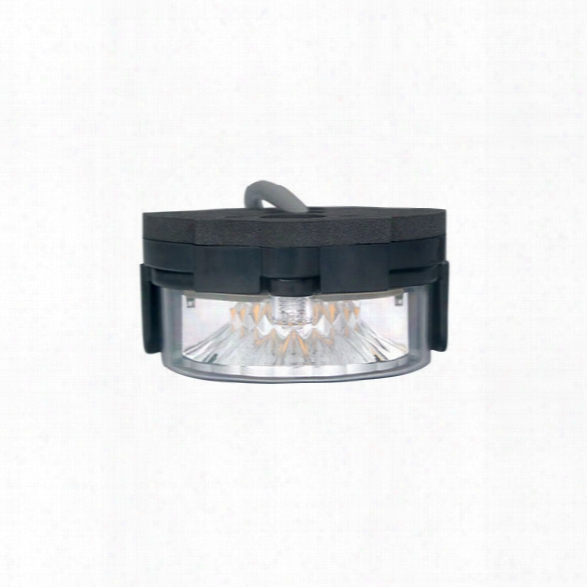 Soundoff Signal Intersector™ Under Mirror/surface Mount Light W/inline Flasher, Xylex Lens, Amber Leds - Orange - Male - Included