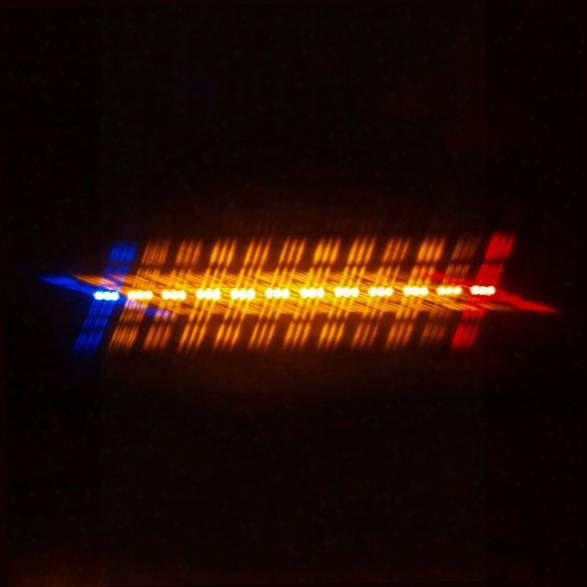 Soundoff Signal Ultralite 12 Mod Interior Led Lightbar W/single Warning Ends, Red/blue - Blue - Male - Included
