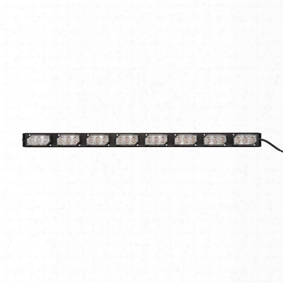 Soundoff Signal Ultralite 8 Module Interior Led Lightbar, Amber - Orange - Male - Included