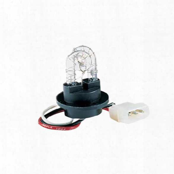 Soundoff Signal Undercover™ Strobe Tube, Screw-in, Black Base, Color Tube Iin Clear (each) - Black - Male - Included