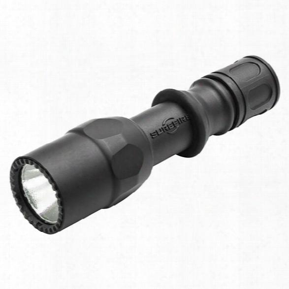 Surefire G2zx Combatlight Flashlight, 320 Lu, (2)123a, Black - White - Male - Included
