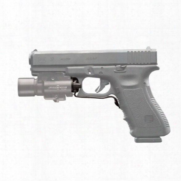 Surefire Switch Assembly, Rear Cap For X Series Weapon Light To Fit Glock Full-size & Compact - Male - Included