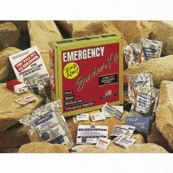 Survivor Industries Emergency Survival Kits - Male - Included