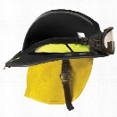 Bullard FX Series Fire Helmet w/ Goggles, Black - white - male - Excluded