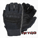 Damascus DMZ33B Nitro Kevlar Gloves, Digital Leather and Hard Shell Knuckles, Black, 2X-Large - Black - Unisex - Included