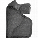 Gould & Goodrich 701 Pocket Holster, Charcoal, Ambidextrous, Fits Most 1.88 Inch To 2.25 Inch BBL Small-Frame Double-Action Revolvers - Gray - Unisex - Included
