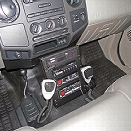 "Havis Console, 12"" for Ford F Series 08-2010, Under Dash, Vehicle Specific - male - Excluded"