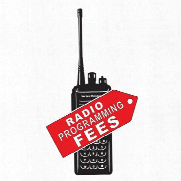 Vertex Standard Programming Fee For Vx2200 Vertex Radios - Tan - Unisex - Included
