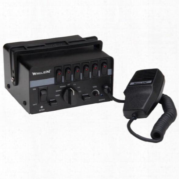 Whelen Epsilon™ Series Siren , Full Function Hands-free With Diagnostix™ And 9 Scan-lock™ Siren Tones, For Up To Two 100 Watt Speake - Male -