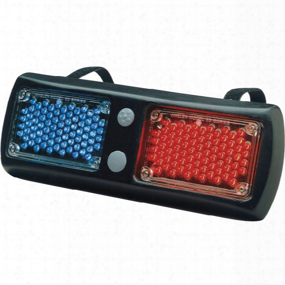 Whelen Flatlighter™ Led Series Light Head ,w/ Multiple Scan-lock™ Flash Patterns, Blue/blue - Clear - Unisex - Excluded