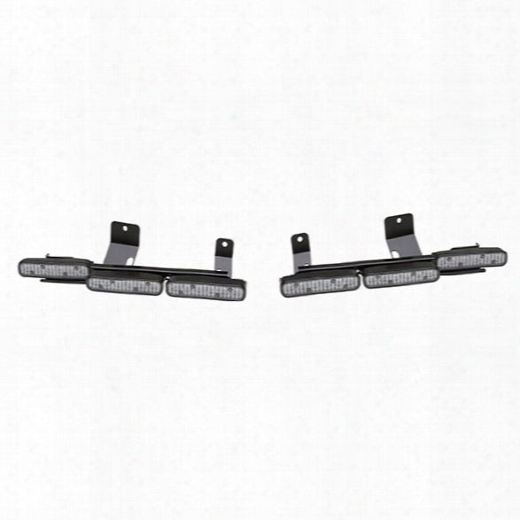 Whelen Rear Hatch Mounting Brackets (pair) For Six Ion™ Series Lightheads, For 2013-2015 Ford Police Interceptor Utility - Clear - Unisex - Excluded