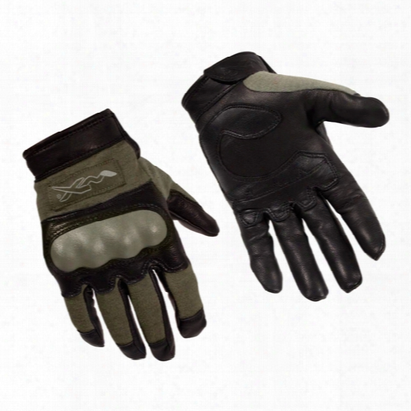 Wiley X Combat Assault Gloves, Black, 2x-large - Green - Male - Included