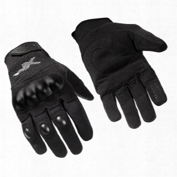 Wiley X Durtac All Purpose Gloves, Black, 2x-large - Black - Male - Included