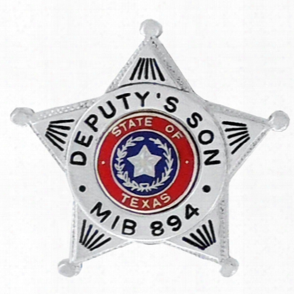 Blackinton Custom Mini Badge, 1-3/8x1-1/2, Gold - Gold - Male - Included