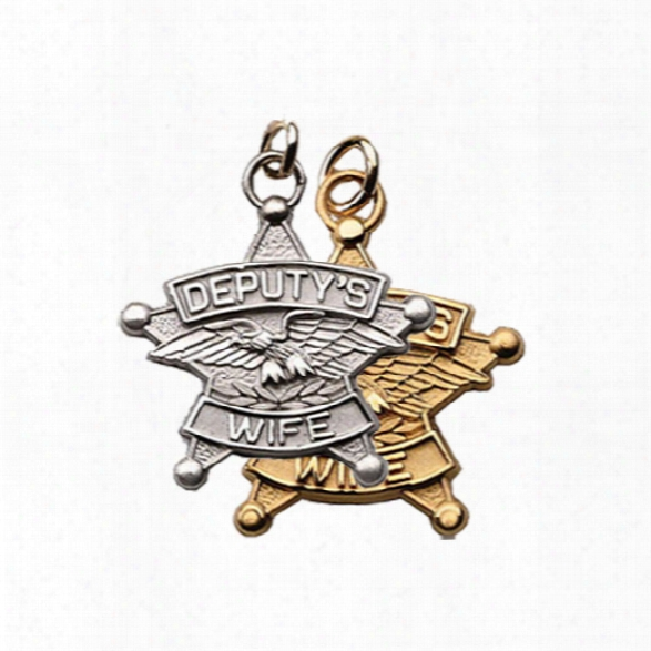 Blackinton Deputy's Wife Charm (no Chain), Sterling Silver - Silver - Unisex - Included