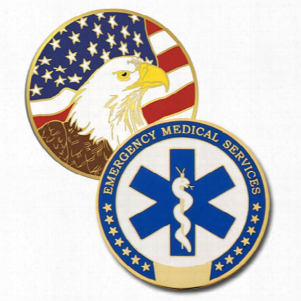 Blackinton Ems Challenge Coin - Gold - Male - Included