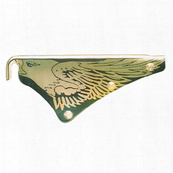 "Cairns Eagle Front Holder 6"" Silk Screened For 1010/1044 - Male - Excluded"