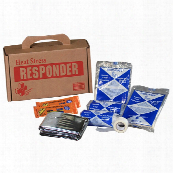 Certified Safety (10cb) Heat Stress Relief, Recycle Box, 8x5x3 - Unisex - Included