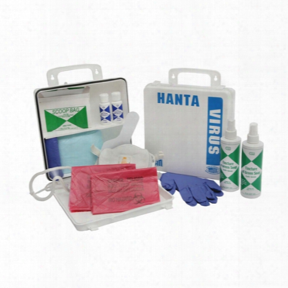 Certified Safety Hhanta Virus Kit W/white Poly Case - White - Unisex - Included