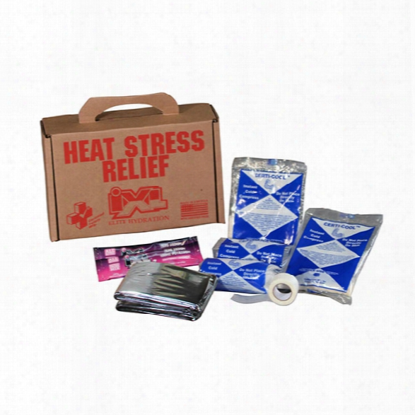Certified Safety Heat Stress Relief Kit, Box - Male - Included