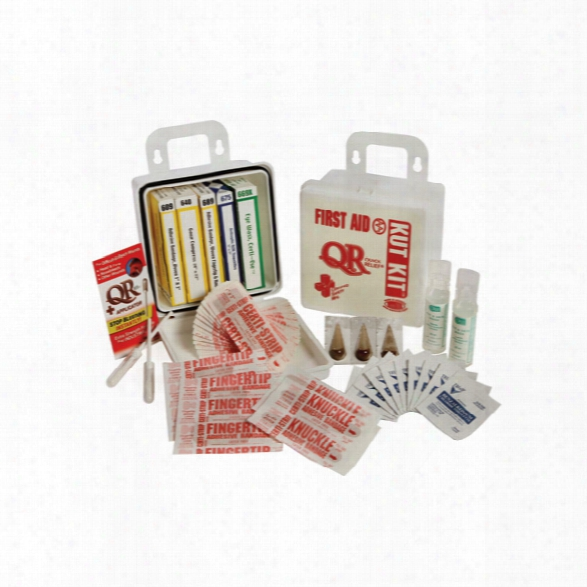 Certified Safety Kut Kit First Aid Kit, 6pw - Poly White - White - Unisex - Included