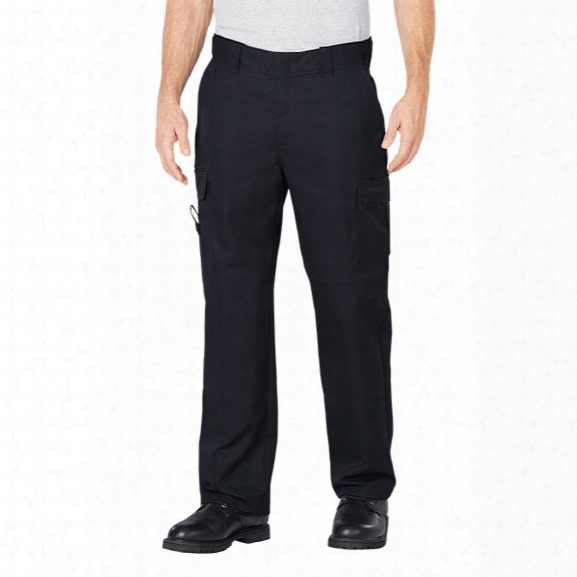 Dickies Emt Pants With Flex Comfort Waist, Black, 30 Inaeam 30 Waist - Black - Male - Included