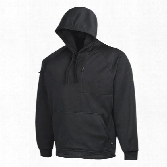 Dickies Tactical Bonded Fleece Hoodie, Black, Md - Black - Male - Included