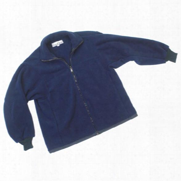 Fire-dex Fleece Liner For Para-dex Ems Jacket Navy 2xlarge - Blue - Male - Included