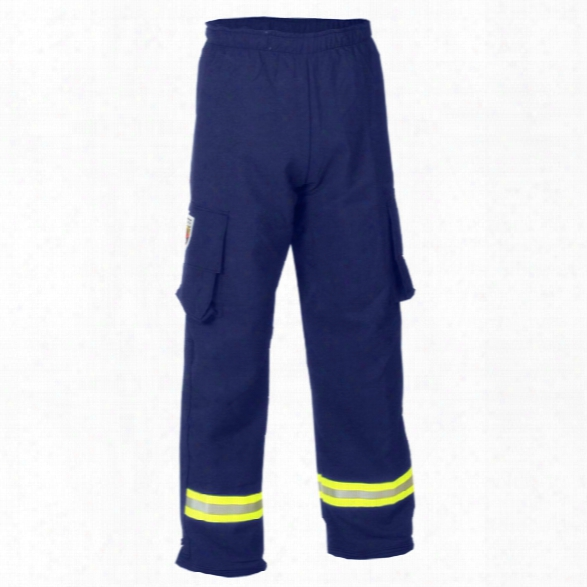 Fire-dex Para-dex Ems Pant Crosstech Navy 2xlarge - Yellow - Male - Included