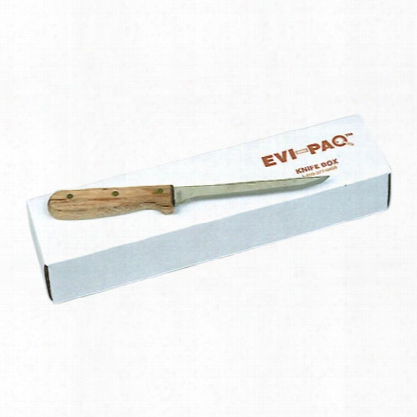 """Forensics Source (25/pk) Evi-paq Knife Boxes, 12.5"""" X 3.5"""" X 2"""" - Unisex - Included"""