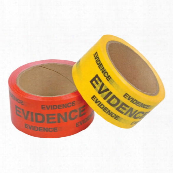 "Forensics Source Evidence Box Sealing Tape, 2"" X 165', Yellow - Yellow - Unisex - Included"