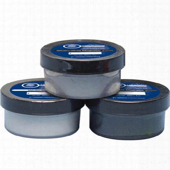 Forensics Source Lightning Latent Print Powder, Black, 2oz - Black - Male - Included