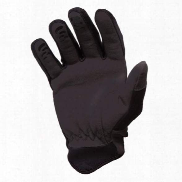 Hwi Tactical & Duty Design Kpd Cut-resistant Kevlar Palm Duty Glove, Black/gray, 2x-large - Black - Male - Included