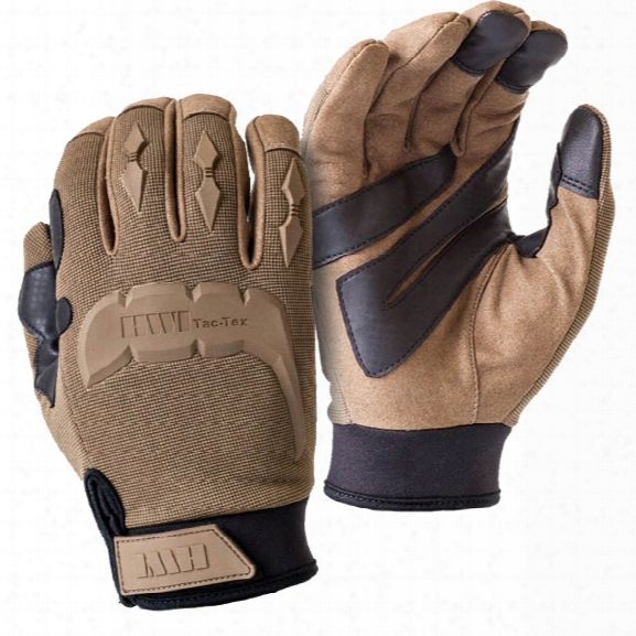 Hwi Tactical & Duty Design Tac-tex Touchscreen Mechanic's Glove, Tan, 2x-large - Tan - Male - Included