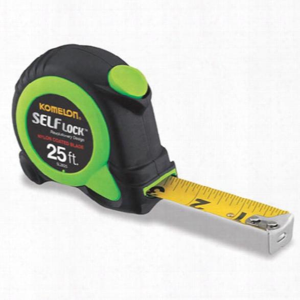 "Komelon 25' X 1"" Green Self Lock, Inch Engineer - Green - Unisex - Included"
