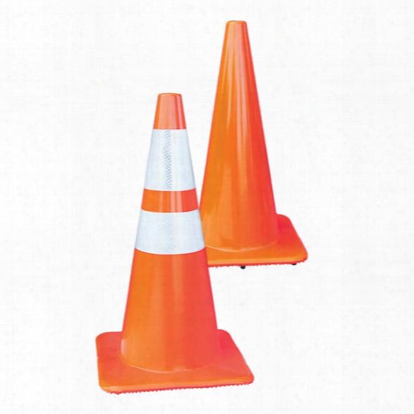 "Lakeside Plastics 12"" Traffic Cone - Orange - Male - Excluded"
