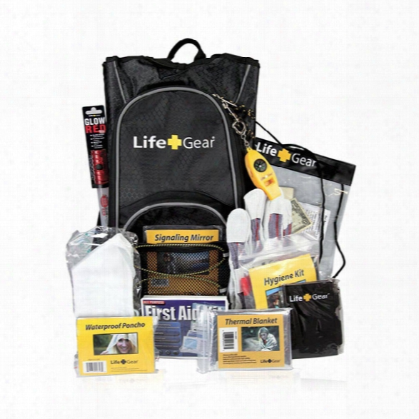 Life Gear Grab And Go Mini Pack - Red - Male - Included
