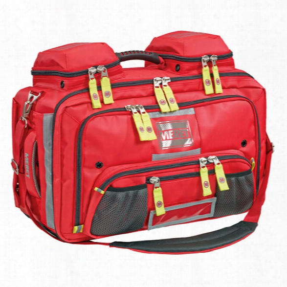 Meret Omni Pro Infection Control Bag, Red - Silver - Male - Included