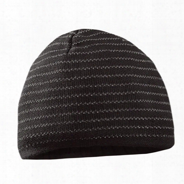 Occunomix Multi-banded Reflective Beanie, Black - Black - Unisex - Included