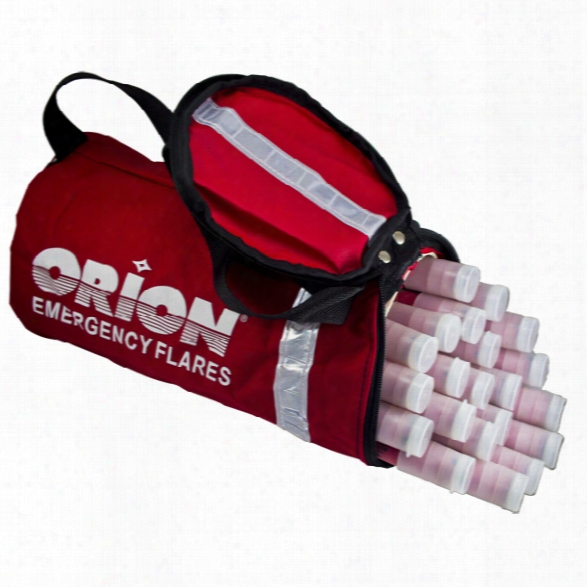 Orion Safety Heavy Duty Flare Storage Bag For Upto 20 Min Flares - Male - Included