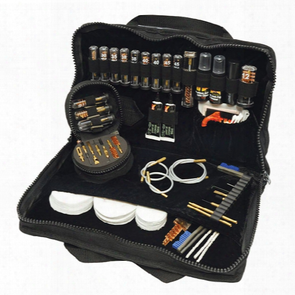 Otis Deluxe Law Enforcement Elite Gun Cleaning Kit System - Black - Female - Included