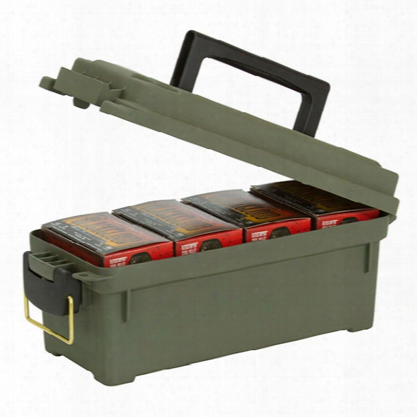 Plano Tactical Shot Shell Box, Od Green - Brass - Male - Included
